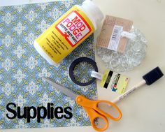 Mod Podge Magnet Tutorial {5 minutes or less} - craft - Little Miss Momma