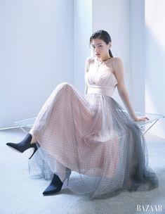 Korean Actresses, Actors & Actresses, Pictures To Draw, Red Velvet, Pop Culture, One Shoulder Wedding Dress, Tulle, Ballet Skirt, Bridal