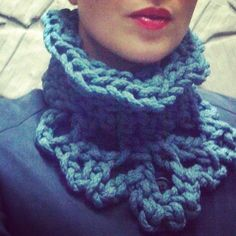 Ornate Cotton Rope Scarf by Audra McAvaddy