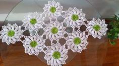flores de cadenitas para unir motivos - YouTube