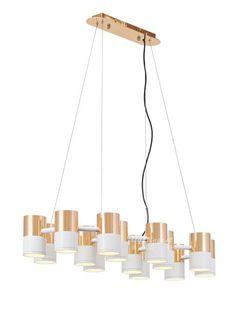 Modern new classical droplight【最灯饰】12月新品现代新古典IKE金属铝材多管设计师样板房吊灯