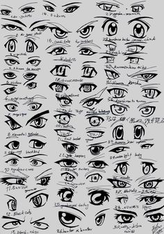 if you want to see the female eyes check ---> it took alot of time :3 like 1 -2 week :3 i hope it help all of you tell me which one is your fav? :3