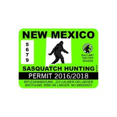 1000 images about bigfoot hunting permits accessories for New mexico fishing license