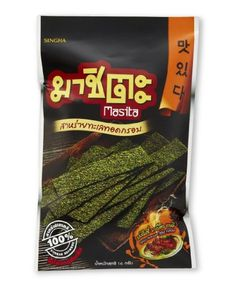 Masita Fried Seaweed Spicy Korean Barbeque Flavor 14grams Bag -- See this great product.