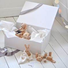 Luved by April and May: This wooden toy gift box is just perfect