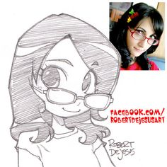 Started a facebook gallery for my art and videos. Launched with a chibi sketch of one of my followers. Come on by.