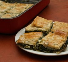 Spinach Pie (Byrek me Spinaq)