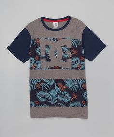 Look what I found on #zulily! Heather Gray Logo Tee - Boys #zulilyfinds