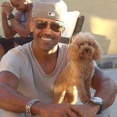 BabyBoy and #cute #dog