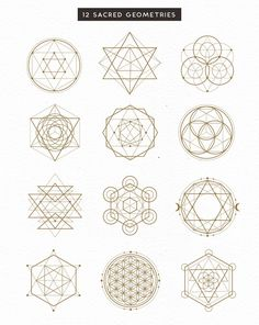 poster design software Watercolor Moons + Bonus by Graphic Box on Sacred Geometry Patterns, Sacred Geometry Tattoo, Geometric Patterns, Geometric Shapes, How To Draw Sacred Geometry, David Carson Design, Watercolor Mandala, Watercolor Moon, Tattoo Watercolor