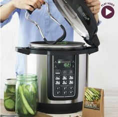 Take the guesswork out of canning with this innovative automatic canner.  Enter to win one this week!