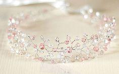 Как сделать венок невесты из бусин