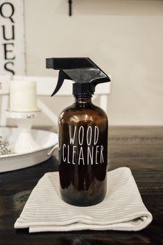 DIY Wood Cleaner, Homemade Wood Oil, Wood Polish, Essential Oil DIY