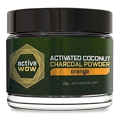Active Wow Teeth Whitening Charcoal Powder Orange ** Be sure to check out this awesome product. (This is an affiliate link)