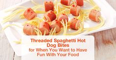 Hot dog wieners with noodles - what can be simpler? However, there's one incredibly simple way to turn them into a smashingly fun and easy-to-prepare dish.