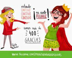 Pedrita Parker Caricatura de Marisol en 2014