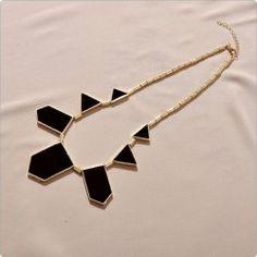 $3.55 European Style Alloy Rhinestone Embellished Geometric Figure Shape Pendant Necklace For Women