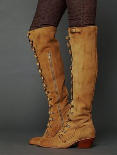 The wear with everything boots I need for the new season. Free People Johnny Tall Boot, $348.00