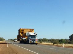 Wide load taking up the two lanes heading north on the Great Northern Hwy.