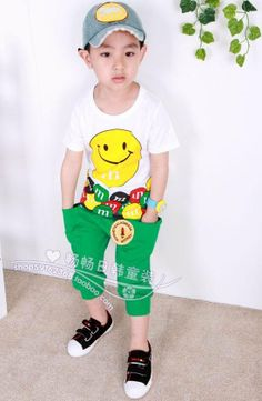 I have noticed a slight trend leaning toward a Capri cut pant for boys this year. I am so happy to see that line crossed because it really facilitates designing boys clothing where before we were stuck with one or two cuts. This look will be around for a long time to come.