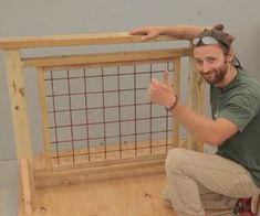 Deck Railing With Hogwire Panels How to build a hog wire 038 wood fence
