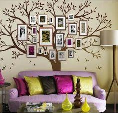 Cute nursery idea, family tree