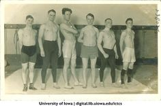 1920s wrestling team, Iowa