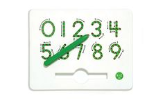This clever, magnetic tablet makes learning to write numbers fun for kids. Learning To Write, Writing Practice, Learning Tools, Kids Learning, Teaching Kids, Writing Numbers, Letters And Numbers, Learn To Count, Pre Kindergarten
