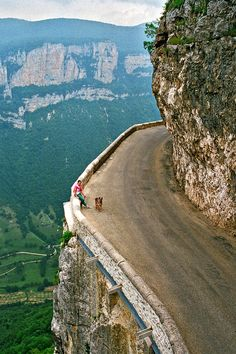 Amazing roads around the world.