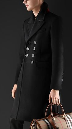Burberry Bonded Cashmere Topcoat
