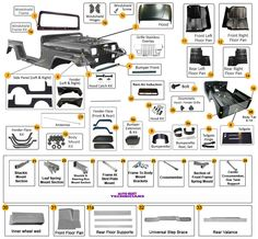 jeep yj parts diagrams 22 best images morris 4x4 center, jeep 2003 jeep wrangler exhaust system diagram body parts for wrangler yj jeep wrangler renegade1997