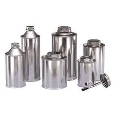 Freund Container & Supply...Wholesale Screw-Top Steel Cans