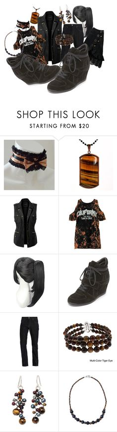 """""""black sneaks, black & brown outfit"""" by caroline-buster-brown ❤ liked on Polyvore featuring West Coast Jewelry, LE3NO, Boohoo, Ash, Levi's, Pearlz Ocean, NOVICA and sneakersanddress"""