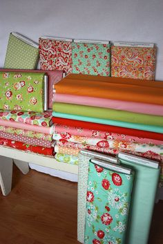 Solids to coordinate with Scrumptious by Bonnie & Camille by pink chalk studio, I love the colors
