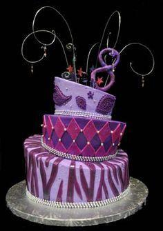 Coolest Flower 18th Birthday Cake 18th birthday cake Birthday