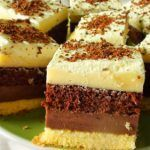 Chocolate Covered Cheesecake Bites- instead of cheesecake do marshmallows and it would be s'mores bites Hungarian Desserts, Hungarian Recipes, Sweets Recipes, My Recipes, Cookie Recipes, Cake Bars, Dessert Bars, Layered Desserts, Just Eat It