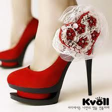 red heels shoes - Buscar con Google