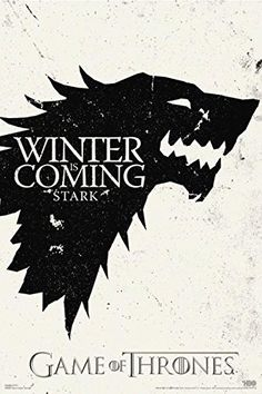 Game Of Thrones Winter Is Coming Stark TV Poster 24x36