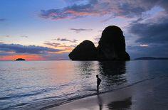 Rai Lai Bay - Krabi, Thailand. Click photo to play sound.