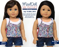 Mod Doll Monday Giveaway - Win an American Girl Doll and a Liberty Jane Outfit - vote to help us decide who models it best! Enter to win at Pixie Faire!