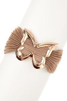 Butterfly Mesh Bracelet