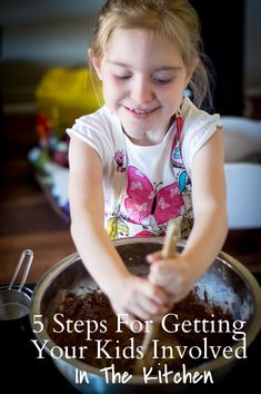 5 Steps for Getting your Kids Involved in the Kitchen