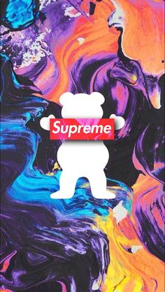 Grizzly Griptape Wallpaper XISTmade - LiftedMiles #GrizzlyGriptape #GrizzlyGrip #SupremeClothing