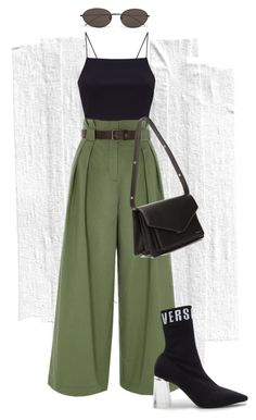 by MLINEV by m-linev on Polyvore featuring мода, River Island, Versus, Balenciaga and Ann Demeulemeester