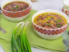 Ciorba de loboda rosie Salsa, Supe, Mexican, Ethnic Recipes, Food, Gravy, Salsa Music, Restaurant Salsa, Essen