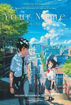 kimi no na wa [your name] makoto shinkai Manga Anime, Film Anime, Manga Art, Anime Art, Your Name Movie, Your Name Anime, Anime Love, Kawaii Anime, Mitsuha And Taki