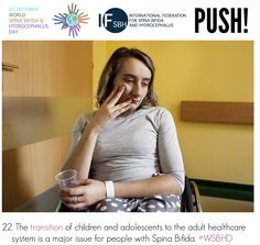 The transition of children and adolescents to the adult healthcare system is a major issue for people with Spina Bifida. Global Awareness, Adolescence, Health Care, Children, People, Young Children, Boys, Child, Kids