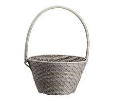 Quinn Easter Baskets GREY Large