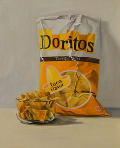 Doritos painting by Craig Stephens - This is sooo for my sister:)