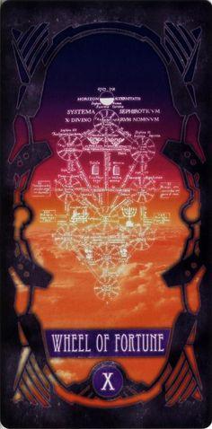 Evangelion - X – Wheel of fortune – Systema Sephiroticum by Gainax *